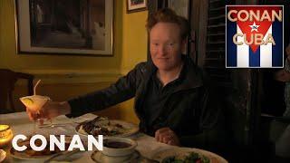 Download Conan Dines At A Cuban Paladar - CONAN on TBS Video