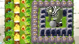 Download MAX LEVEL POWER-UP! Primal vs GARGANTUAR in Prison Plants vs Zombies 2 PVZ 2 Video