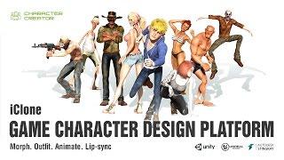 Download iClone Game Character Design Platform Video
