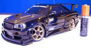 Download RC ADVENTURES - Nissan Skyline - I get my first XMods Car! (Unboxing an RC Car from eBay) Video
