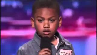 Download Howard Stern Makes 7-year-old Rapper Cry on America's Got Talent | @kollegekidd Video