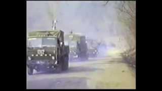 Download Афганистан 221 ОБМО ВВС колонна 1311, 1312, 1313 КАМАЗы Video