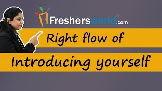 Download Right Flow of Introducing yourself - Effective Interview tips, Self Introduction Video