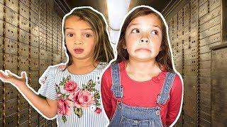 Download TOY VAULT Escape Room Challenge! Stuck inside secret toy Vault! Video