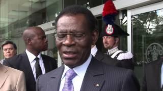Download Entrevista con el Presidente de la República de Guinea Ecuatorial, Obiang Nguema Mbasogo Video