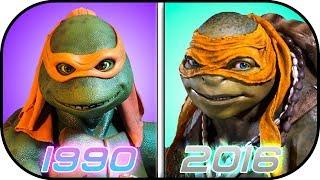 Download EVOLUTION of Ninja Turtles in Movies (1990-2016) Teenage Mutant Ninja Turtles History Video