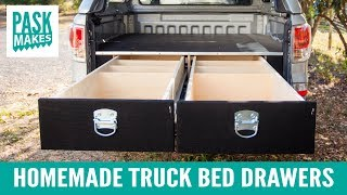 Download Homemade Truck Bed Drawers Video