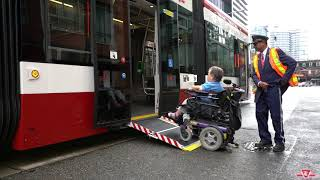 Download Accessibility: Boarding and exiting the low-floor streetcar Video