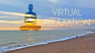 Download 4K 360º Virtual Relaxation on Beach - LONG VR Video for Meditation Video