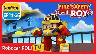 Download 🔥Fire safety with Roy | EP 14 -26 | Robocar POLI | Kids animation Video