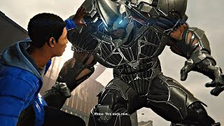 Download Spider-Man PS4 - Miles vs Rhino EPIC Boss Fight (Spiderman 2018) PS4 Pro Video