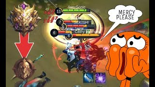 Download WHEN MYTHIC GLORY PLAYER PLAYS IN WARRIOR / FANNY MONTAGE #1 Video