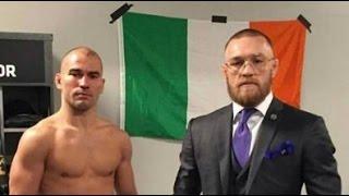 Download Conor McGregor Reacts to Cub Swanson vs Artem Lobov Result - UFC Nashville Video