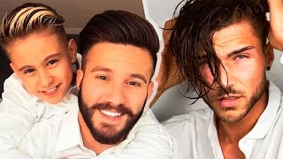 Download 20 Cool Men's Hairstyles & Haircuts Tutorials | Men's Hairstyles Compilation❄2017❄ Video