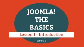 Download Joomla 3 Tutorial - Lesson 01 - Introduction Video