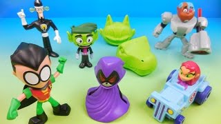 Download McDONALDS TEEN TITANS GO! 2017 SET OF 6 HAPPY MEAL KIDS TOYS VIDEO REVIEW Video