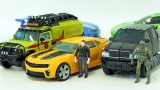 Download Transformers Ironhide Ratchet Bumblebee Carbot Tobot Vehicle Car Toys 트랜스포머 범블비 아이언하이드 라젯 또봇 카봇 장난감 Video