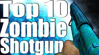 Download TOP 10 SHOTGUNS IN CALL OF DUTY ZOMBIES. Video