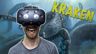 Download BECOME THE KRAKEN IN VR | Kraken VR - HTC Vive Gameplay Video