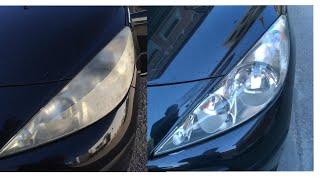 Download Cómo devolverle la transparencia a los faros del coche / Cómo pulir los faros del coche Video
