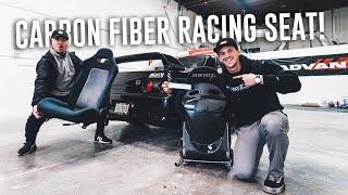 Download Skyline GTR Gets BRIDE JAPAN FULL CARBON FIBER RACING SEAT! Video