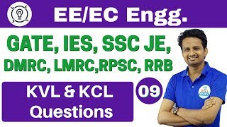 Download 6:00 PM | Electrical Engineering by Ashish Sir | Day #09 | KVL & KCL Questions Video