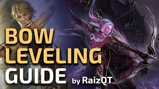 Download How to level with a BOW to Blood Aqueducts in 2 hours - PoE hardcore Leveling Guide Video