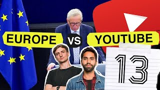 Download YouTube is Changing: Article 13 Explained Video