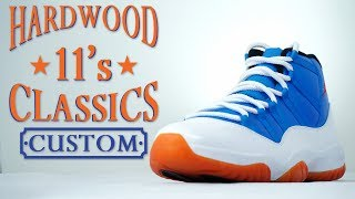 Download Custom Hardwood Classic Jordan 11- Restorations With Vick Video