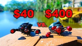 Download How Good Is A $40 Fishing Reel?? (Put to the test) Video