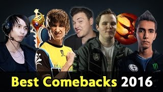 Download Biggest Comebacks of 2016 — Dota 2 Video