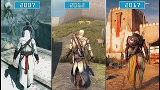 Download All Assassin's Creed Games (2007- 2017) | Graphics Evolution HD Video