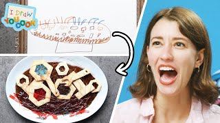 Download Can These Chefs Turn This Robot Drawing into Actual Food? • Tasty Video