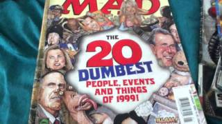 Download Taking a look at my Mad Magazine collection Video