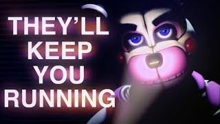 Download FNAF SISTER LOCATION SONG | ″They'll Keep You Running″ by CK9C [Official SFM] Video