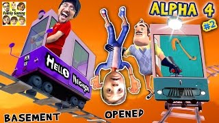 Download HELLO NEIGHBOR ALPHA 4: CHOO CHOO TRAINS & BOO BOO THANGS🔥 FGTEEV Pt 2 Basement Marts Tips & Tricks Video