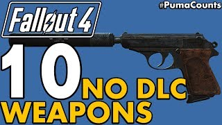 Download Top 10 Best Vanilla (NO DLC) Guns and Weapons in Fallout 4 #PumaCounts Video
