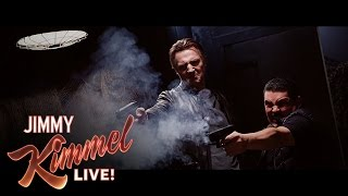 Download Taken 4 with Liam Neeson, Guillermo & Jimmy Kimmel Video