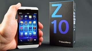 Download Blackberry Z10: Unboxing & Review Video