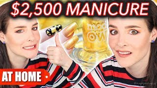 Download $25 Manicure Vs. $2,500 Manicure (DIY at Home!) Video
