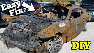 Download Can a $5,000 Fire Salvage Hellcat REALLY Be Rebuilt? Video
