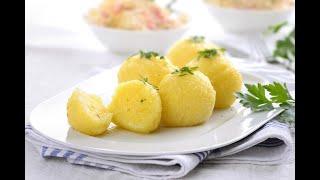 Download Kartoffelklöße halb und halb - German potato dumplings ¬ Herdblog Kochschule Video