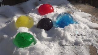 Download ″Frozen Orbs″ Frozen Water Balloons With Food Coloring Video