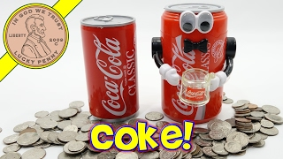 Download Coca Cola Musical & Animated Kids Toy Banks - Have A Coke! Video