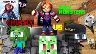 Download Monster school : CHUCKY HORROR GAME CHALLENGE - BABY MONSTERS Video