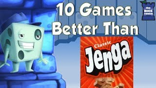 Download 10 Games Better Than Jenga - with Tom Vasel Video