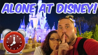 Download WALT DISNEY WORLD! 24 HOUR OVERNIGHT CHALLENGE AT DISNEY MAGIC KINGDOM Video