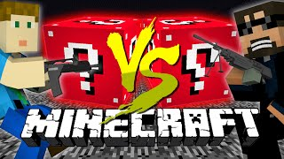 Download Minecraft: RED LUCKY BLOCK CHALLENGE | Flan's Mod Destruction! Video