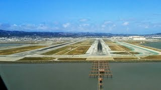 Download PilotsEYE.tv - A380 Landing KSFO San Francisco SUBTITLES English | without commentary | Video