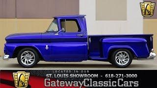 Download #7124 1963 Chevrolet C10 - Gateway Classic Cars of St. Louis Video